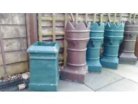 Chimney Pots Victorian Large x 5 - priced individually