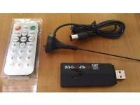 USB Freeview TV Stick - Watch live TV from your Laptop / PC