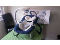 Chicco mia baby seat and rocker chair