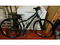 (As New) Ladies XS Hybrid Giant bike with extras