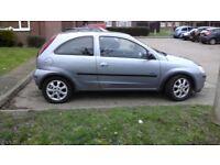 Vauxhall Corsa 1.0 3 door Low Milage