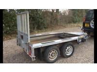 """Ifor willams Mini digger """" fold down ramp ideal for motorcycles"""
