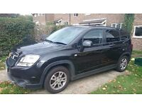 Chevrolet Orlando LT 7 seater MPV low mileage FSH Towbar Tinted windows