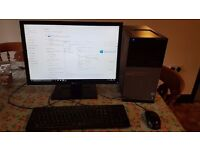 Desktop PC - Dell OptiPlex 790 INTEL CORE I3-2120, 8GB Ram, 128 SSD, 22inch monitor, KB & mouse