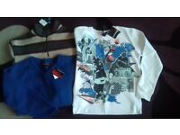 3 Boy's Sweaters/Fleeces *BNWT* - Age 9-10 years