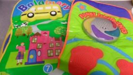 ELC Lights and Musical Sounds Funky Footprints & Balamory Interactive Playmat - Plus Batteries - £5