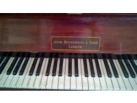 John Broadwood and Sons upright piano in good working order
