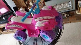 Hello kitty quad bike. Girls Electric quad