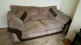 Crompton 2 seater sofa and 2 arm chairs