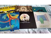 JOBLOT OF 40 ALBUMS FOR £60 - QUEEN/ROBERT PLANT/BLONDIE/ROLLING STONES/CAMEL/PETE TOWNSHEND/B.SEGER