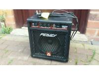 Peavey micro bass guitar amplifier speaker