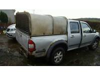 Isuzu rodeo great wall steed canopy