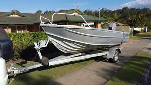 Clark Abalone 4.3 m Aluminium Boat. Albany Creek Brisbane North East Preview