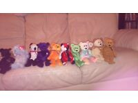 101 ty beanie bears some rare all in great condition.