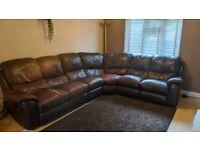 FREE!! Leather corner sofa