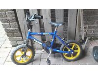 12 inch Raleigh Boys Bike