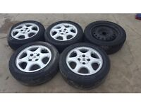 Rover 600 Alloys with Tyres 205/55 R16 205 55 16