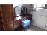 Dressing Table and Mirror Made By G Plan