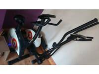 "York fitness ""perform 210 "" stepper and bike"