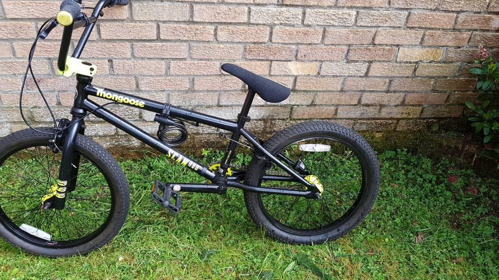 Black And Yellow Mongoose Bmx Bike In Cumbernauld