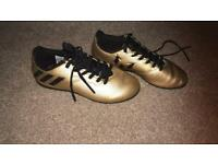 Children's kids Adidas Football Boots size 13
