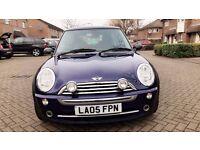 2005 Mini Cooper Hatchback manual 1.6 petrol 3 dr,FSH, Very Low Mileage, HPI Clear