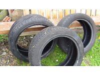 car tires size 225/40 ZR 18, 215 150 R 17 , 235/ 45 ZR 17