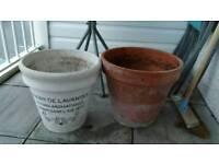 Large garden plant pot