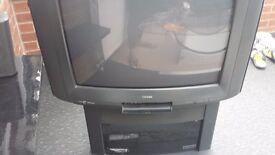 old style Toshiba tv