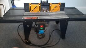 Router table clarke