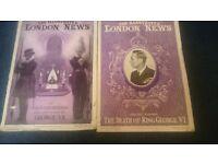 ILLUSTRATED LONDON NEWS - DEATH OF KING GEORGE VI