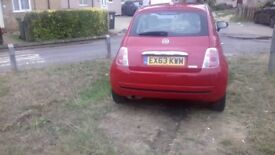 FOR SALE FIAT 500- FSH,17000 MILEAGE £3500ono