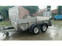 8 X 5 ifor Williams trailer twin axle high door Cookstown