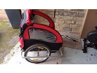 2 Seater Child bicycle Trailer