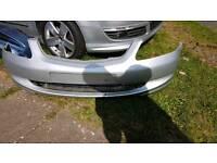 Honda civic type r type s front bumper silver 3door and 5door civic