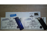 2 standing tickets for GARBAGE - Sat., 15th September at O2 Academy London