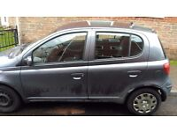 GREAT 1L TOYOTA YARIS - IDEAL FIRST CAR - NEEDS SOME TLC