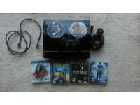 Playstation 3 + accessories and all my games