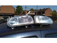 Golf Mk3 headlights - breaking car + new spares