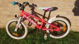 "Girls 16"" inch Cube 160 Race Series Bike"