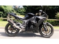 Yamaha R6 Limited Edition Black