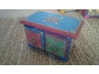 Indian handpainted chest