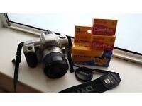 Minolta 404si Dynax Film Camera (with 5 Kodak Films)