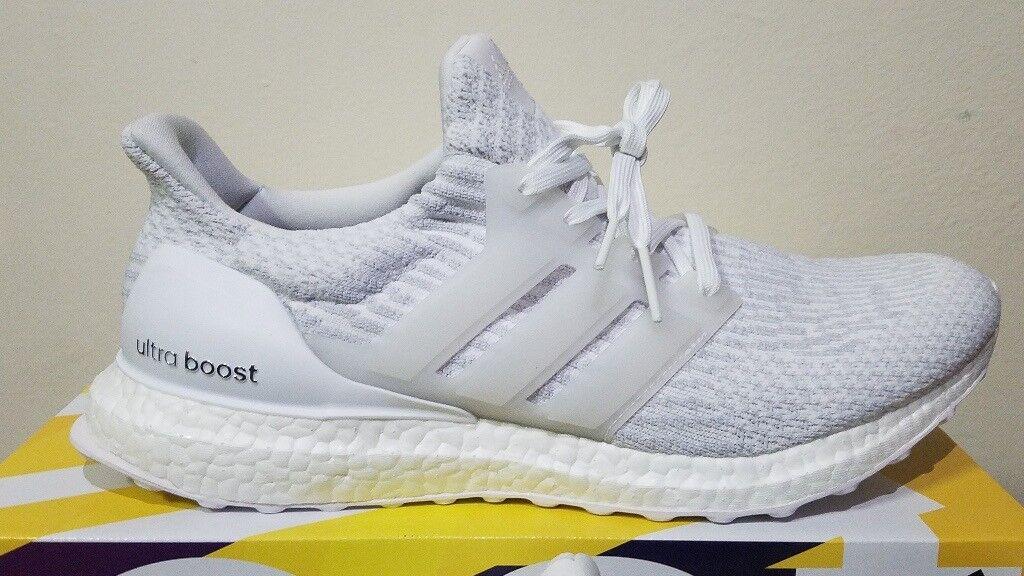92137dde76d48 Adidas UltraBoost 3.0 Triple White