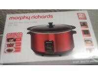 morphy richards stew and sear slow cooker 6.5l