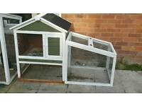 Rabbit hutch/ chicken coop