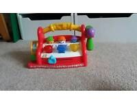 Fisher price interactive tool bench