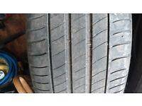 4 x Michelin part worn 225 50 17 tyres