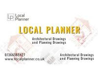 Architectural Services/Planning Permission/Planning Drawings/Loft Conversion/Structural Services