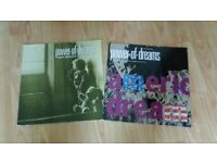 2 x power of dreams - immigrants vinyl Lp / america 4 trk 12 inch